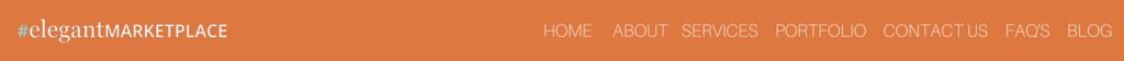 standard website page titles elegantmarkeplace