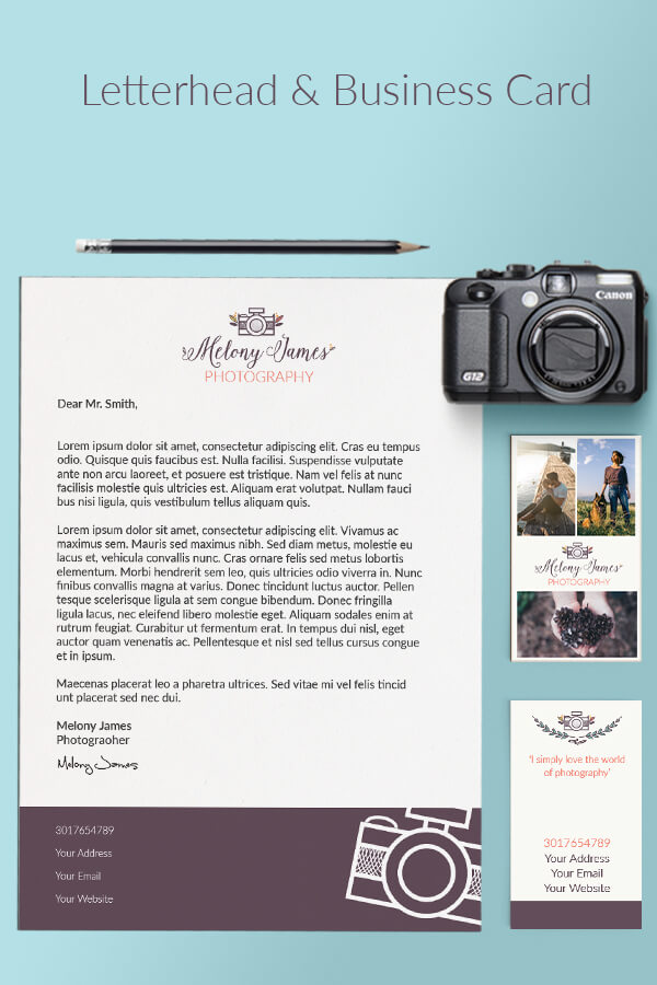 Logo+Business Card+Letterhead Design Package
