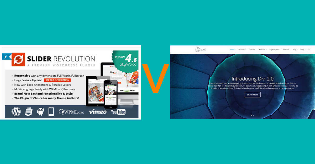 Divi Slider or Revolution Slider