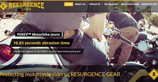 Resurgence Gear – By Andrew Palmer
