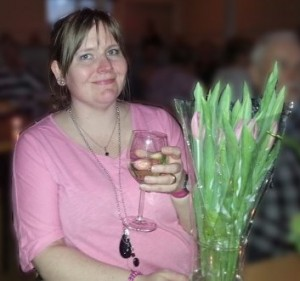 Veronika Berg celebrating 40
