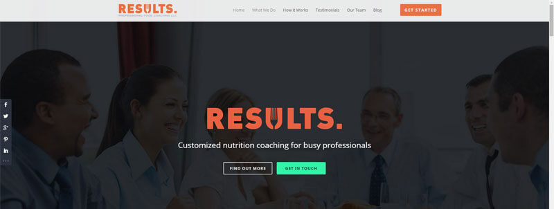 Results Food Coaching – by Kenny Sing
