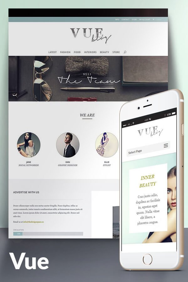 Vue A Wordpress Child Theme For Divi By Melissa Love