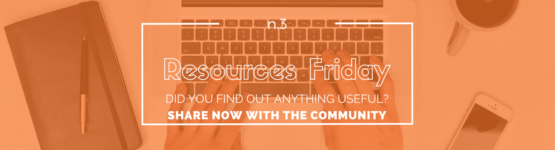 Resources Friday n.3