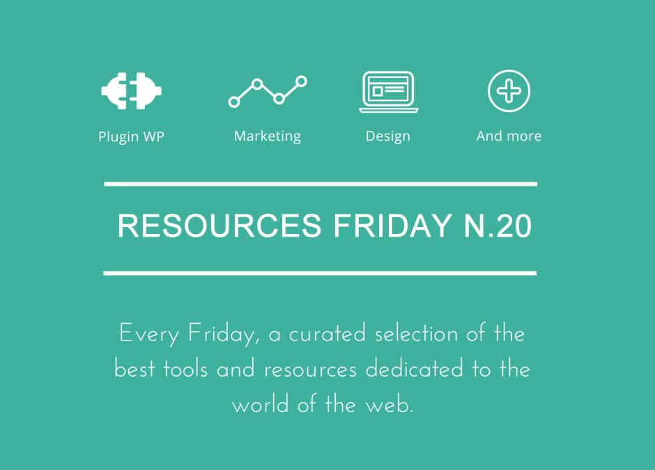 Resources Friday n.20