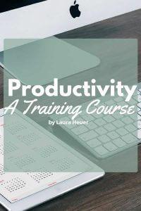 productivity training course