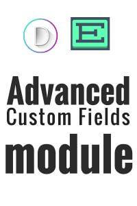 Advanced Custom Fields Module for Divi Theme