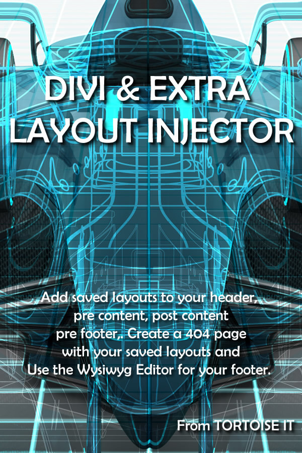 Divi/Extra Layout Injector