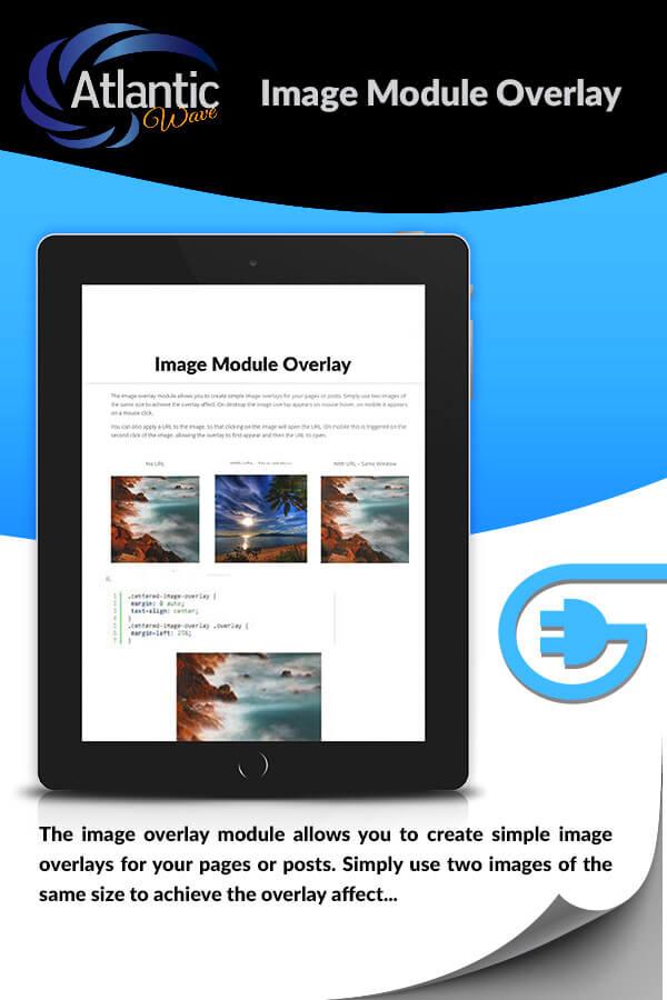 Divi Image Module Overlay