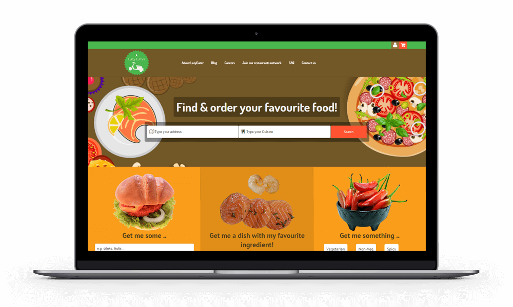 Lazy Eater Online Food Ordering