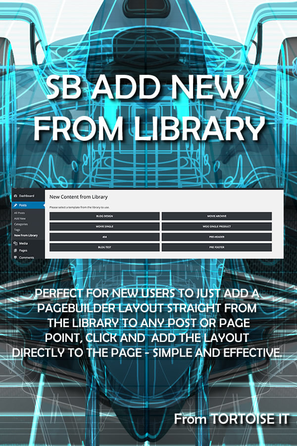 Sb add from library - Divi popup module ...