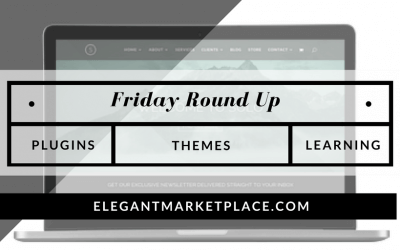 Welcome to our Friday Round up for 10-21-2016