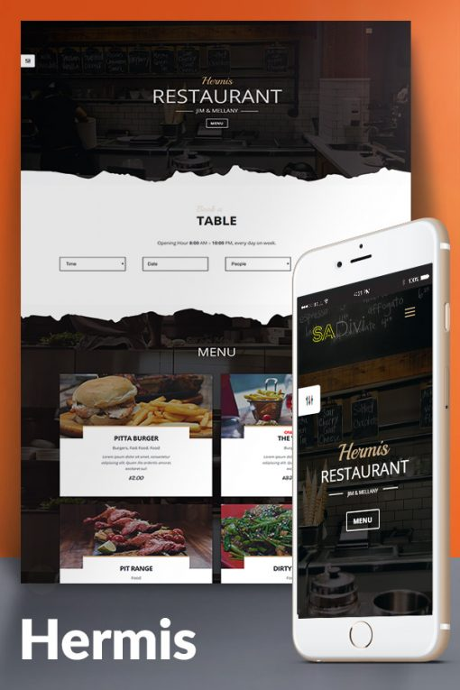 Divi Restaurant Theme