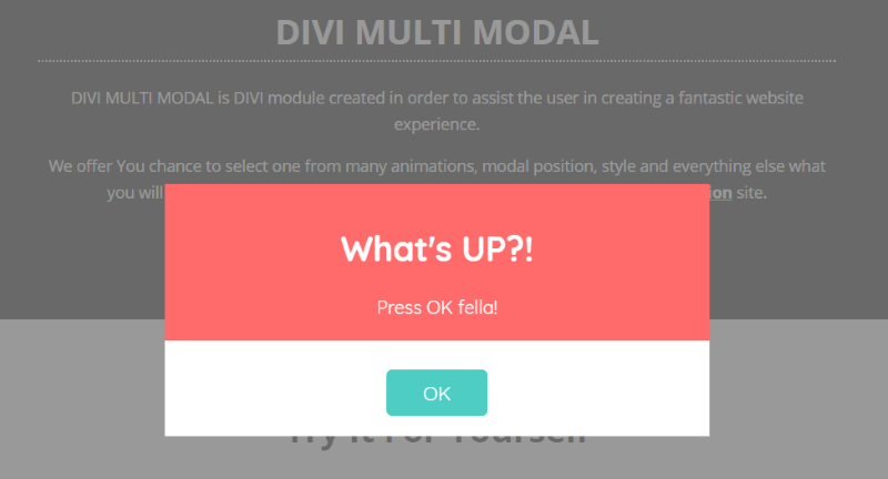 Divi Plugin Spotlight – Multi Modal +