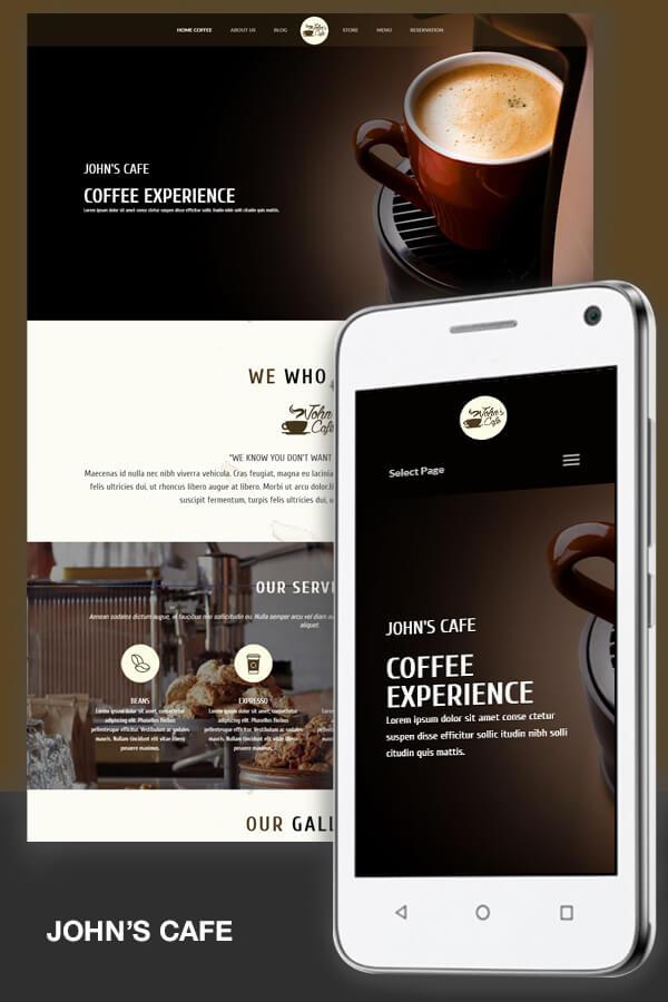 Johns cafe divi ecommerce - Divi theme ecommerce ...