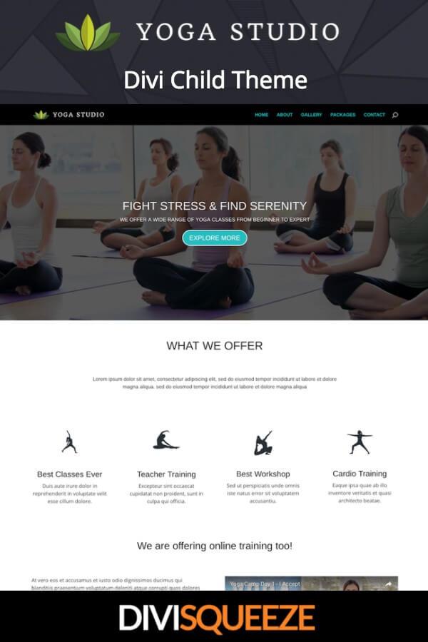 Yoga studio divi child theme - Divi child theme ...