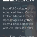Create beautiful Catalogue Lists and Menu Cards directly within Divi