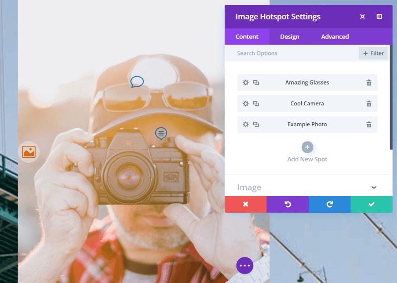 Divi Image Hotspot