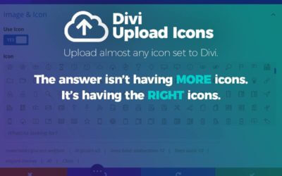 Plugin Spotlight: Divi Upload Icons