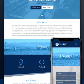 Blue Biz Divi Child Theme