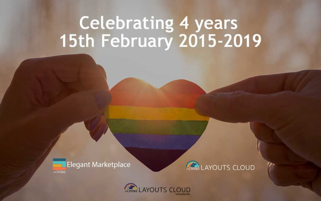 Celebrating 4 years as a community driven marketplace