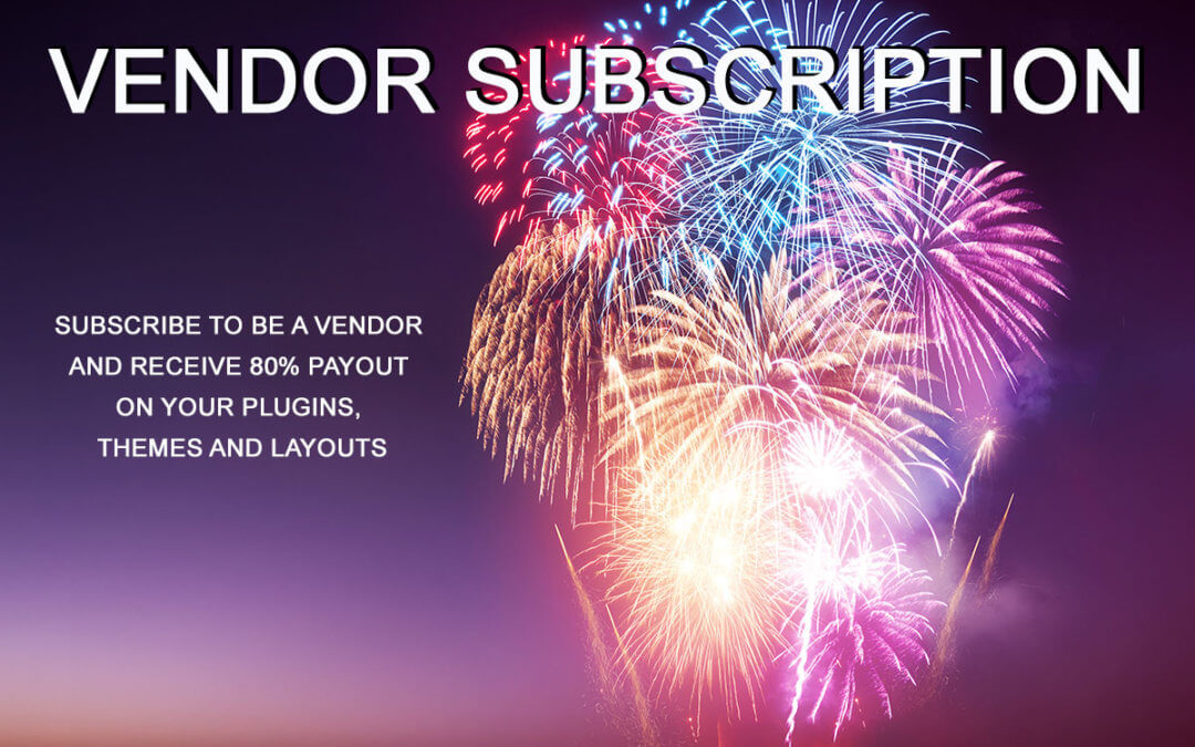 Vendor Subscription – doing things differently