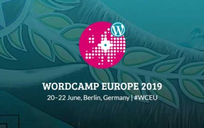 It's all about WordCamp Europe this week!