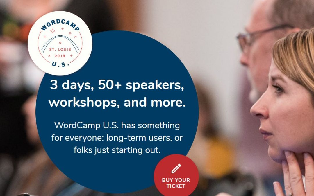I am going to WordCamp US in St Louis!