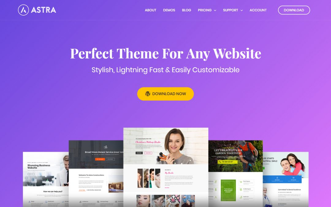 Why are we listing the free version of Astra Theme?