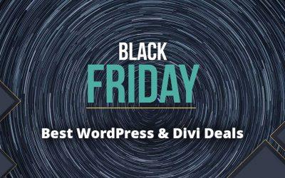 Black Friday Deal Round Up – Best WordPress & Divi Deals
