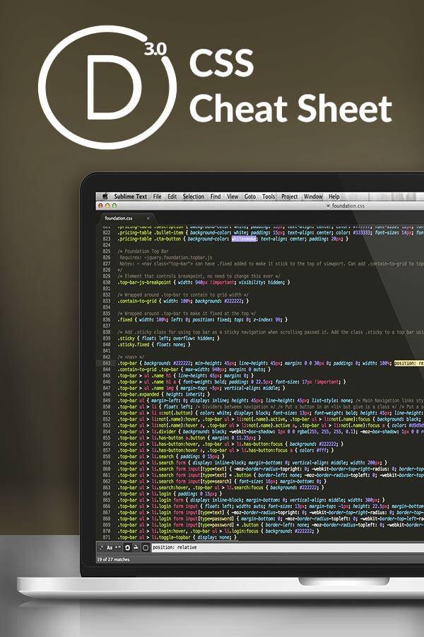 css cheat sheet 2016 pdf