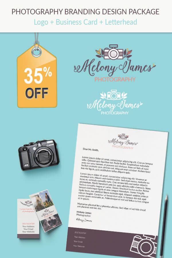 Logo+Business Card+Letterhead Design Package